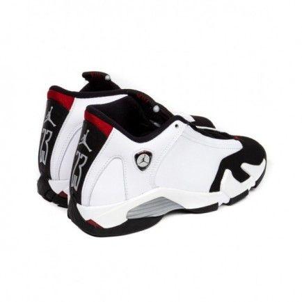 414571 102 Air Jordan 14 Retro White Black Varsity Red Metallic