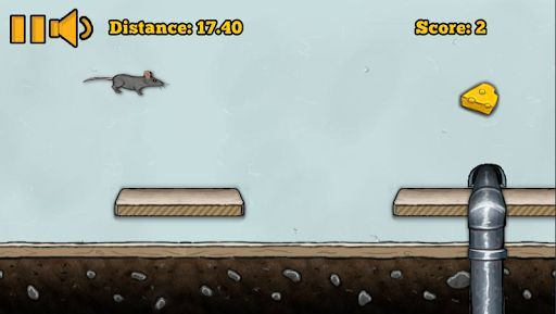 Mouse Runner is a fast paced infinite runner game. You are a mouse on the run from the household cat, you take refuge inside the walls but you must avoid cat paws and other obstacles along the way. Collect cheese throughout the course and see how far you can make it. Upload your high score to the leaderboards and see how you rank against others.<p>★ Online Leaderboards<br>★ Local High Scores<br>★ Fast Paced Action<br>★ NO Intrusive Ads During Gameplay  http://Mobogenie.com