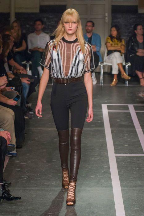 Givenchy spring 2015. Photo: Imaxtree