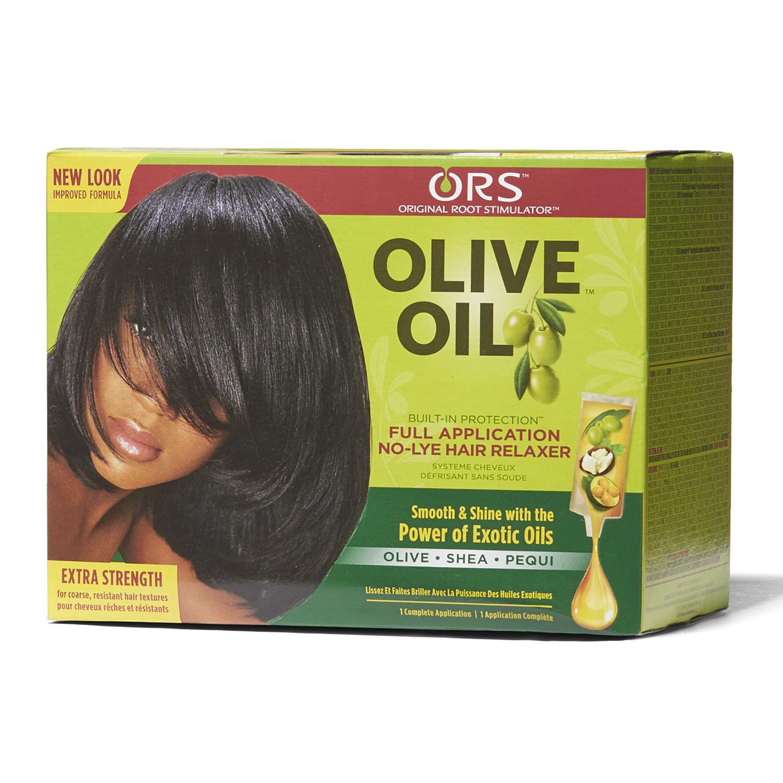 Olive Oil Extra Strength Relaxer System   Relaxer Hair ...
