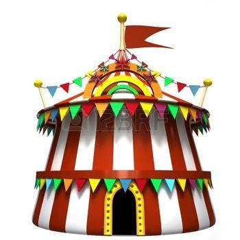 Fete foraine illustration d 39 un chapiteau de cirque banque d f te foraine cirque christmas - Dessin d un chapiteau de cirque ...