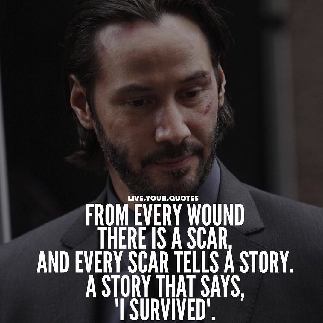 Life Is An Ever Flowing Process And Somewhere On The Path Some Unpleasant Things Will Pop Up It Might Badass Quotes Badass Quotes For Guys Keanu Reeves Quotes