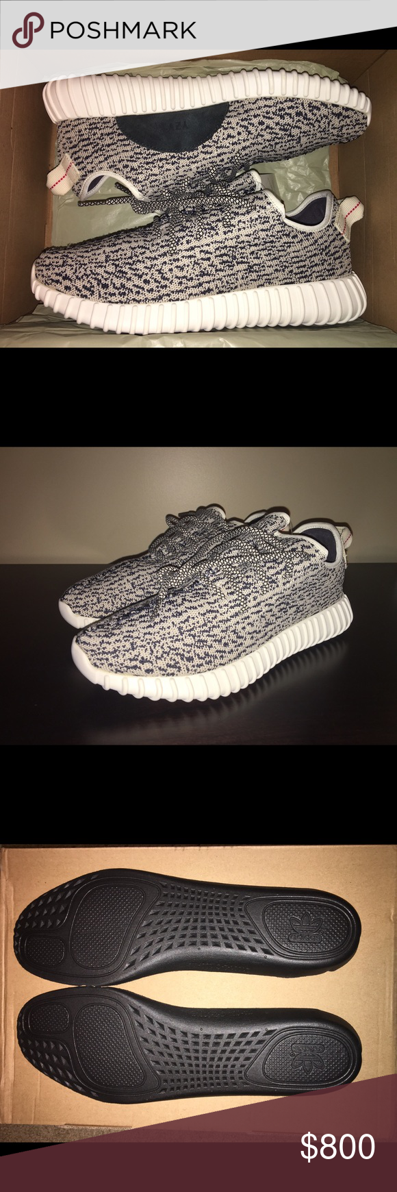 eeb12b04db33 Authentic Adidas Yeezy Boost 350 Turtle Dove Brand new in box! Size 10 with  original