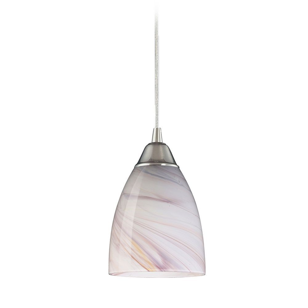 contemporary mini pendant lighting. Elk Lighting Modern Mini-Pendant Light With Art Glass 527-1CR Contemporary Mini Pendant E