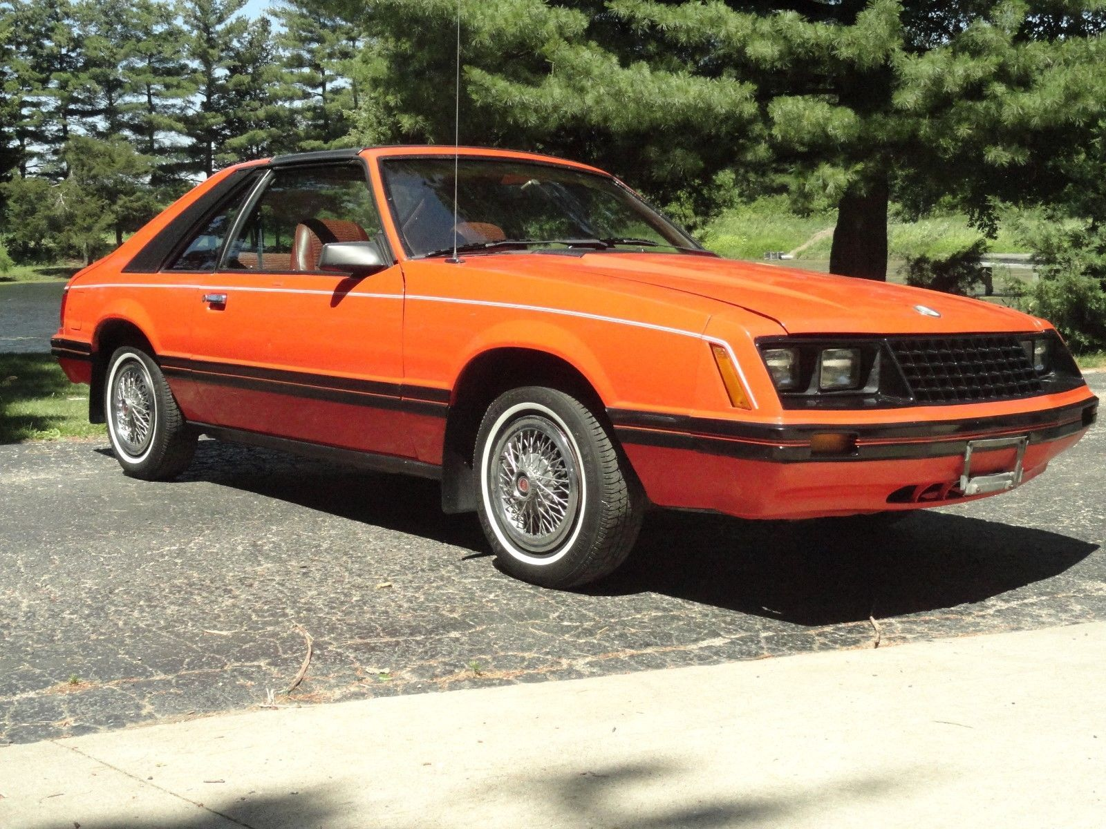 Ebay 1981 ford mustang 1981 ford mustang hatch t tops 2 3l 4 speed