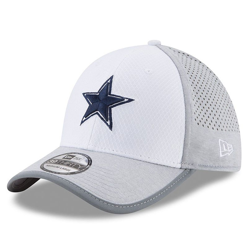 newest collection 6f7ff a8be0 Dallas Cowboys New Era 2017 Training Camp 39THIRTY Flex Hat - White