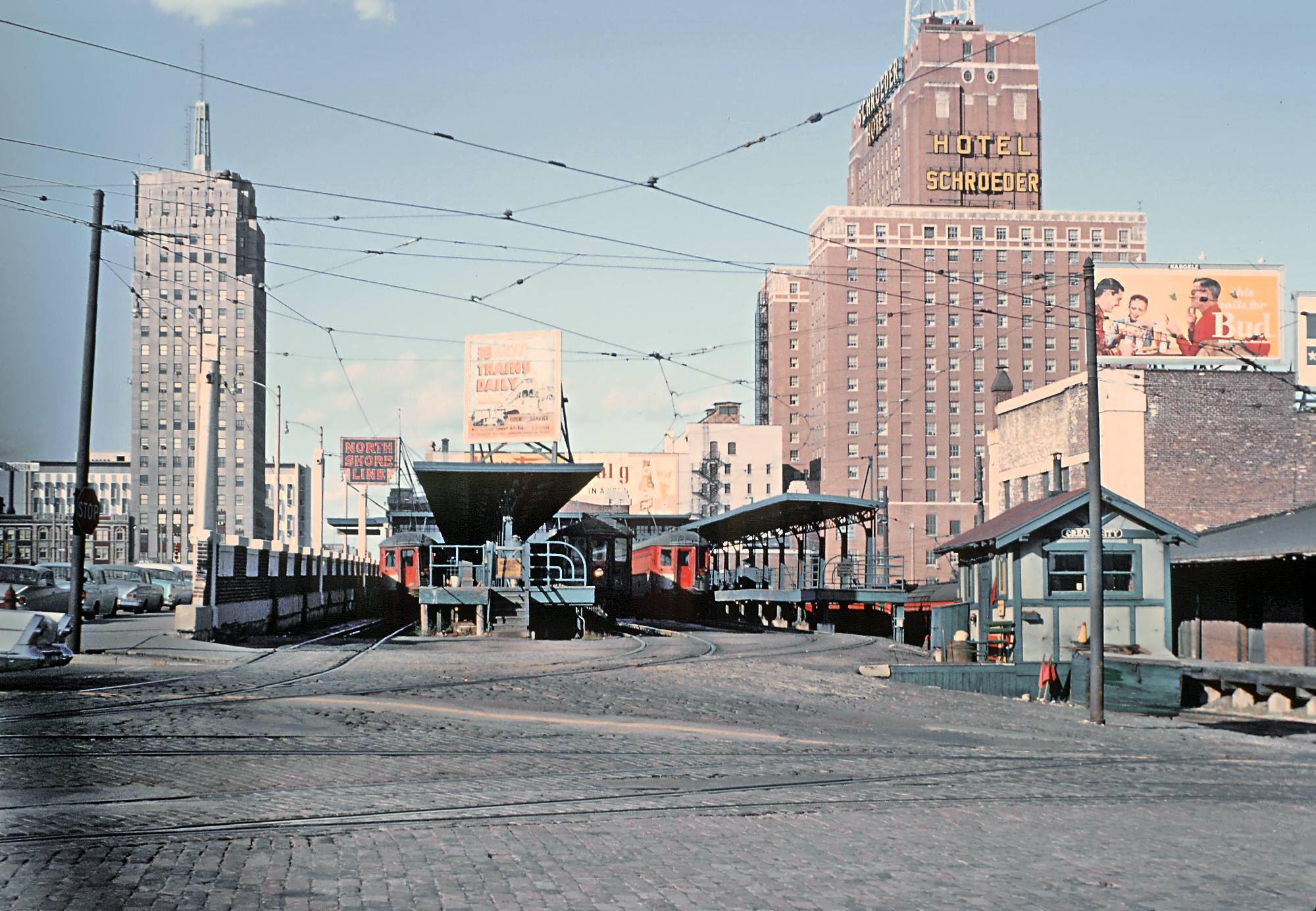 The Chicago North Shore u0026 Milwaukee Railroad