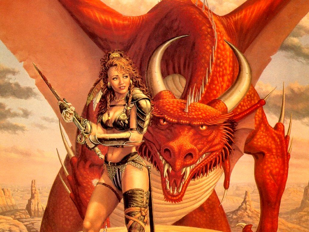 Larry elmore 038 larry elmore art th me dragon dragon et monde fantastique - Dragon images gratuites ...