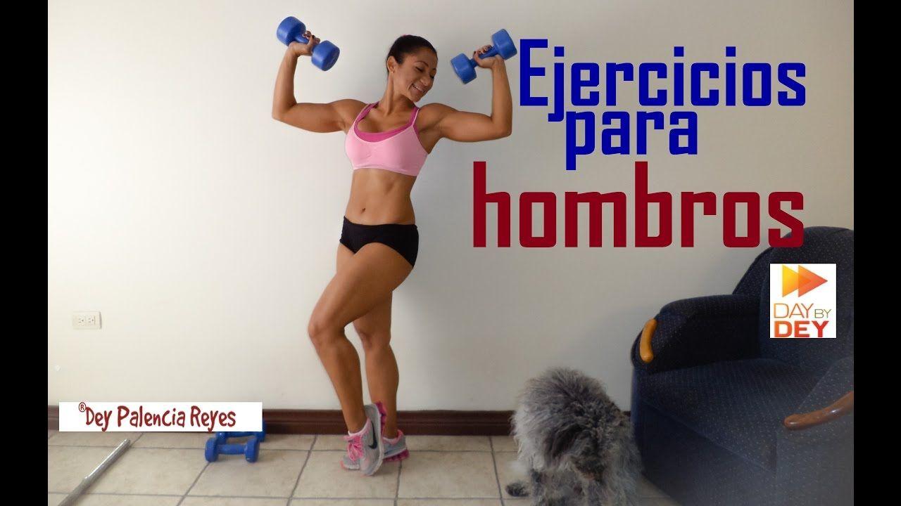 RUTINA DE HOMBRO - Ejercicios para hombros - Rutina 411 - Dey Palencia
