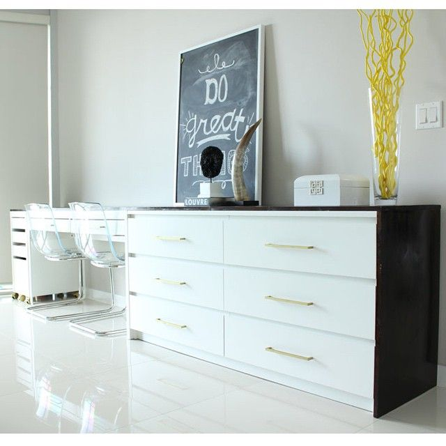 Ikea Hack Ikeahack Tbt To This Desk Dresser Combo I Designed