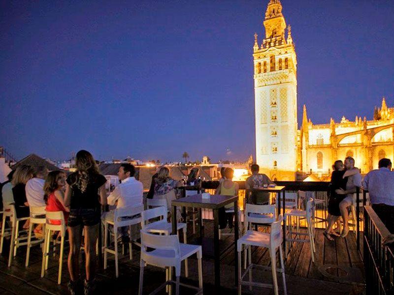Pin En Terrazas De Sevilla