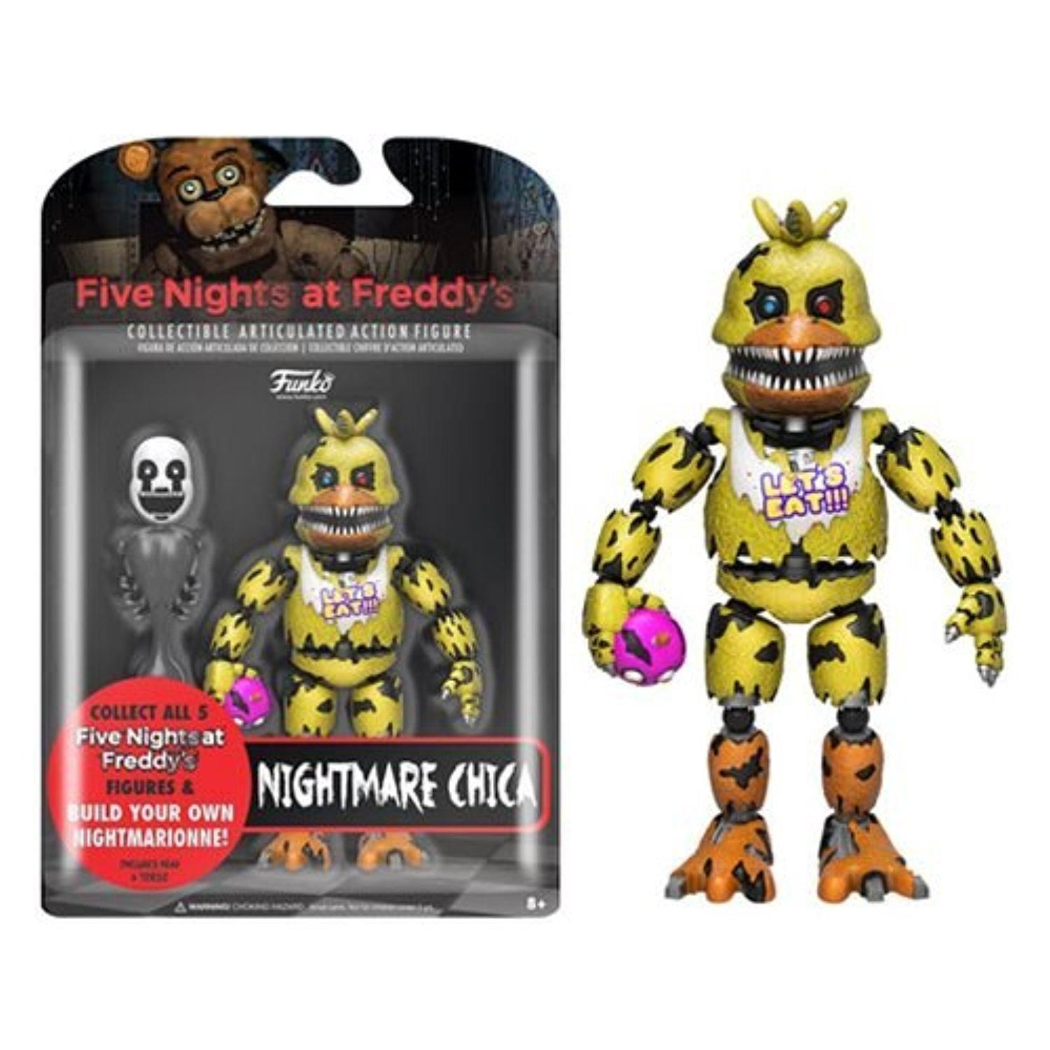 FNAF Five Nights At Freddy's NIGHTMARE CHICA Articulating
