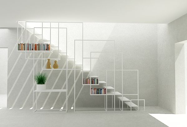 Best The Square Staircase By Amir Zinaburg Staircase Design 400 x 300