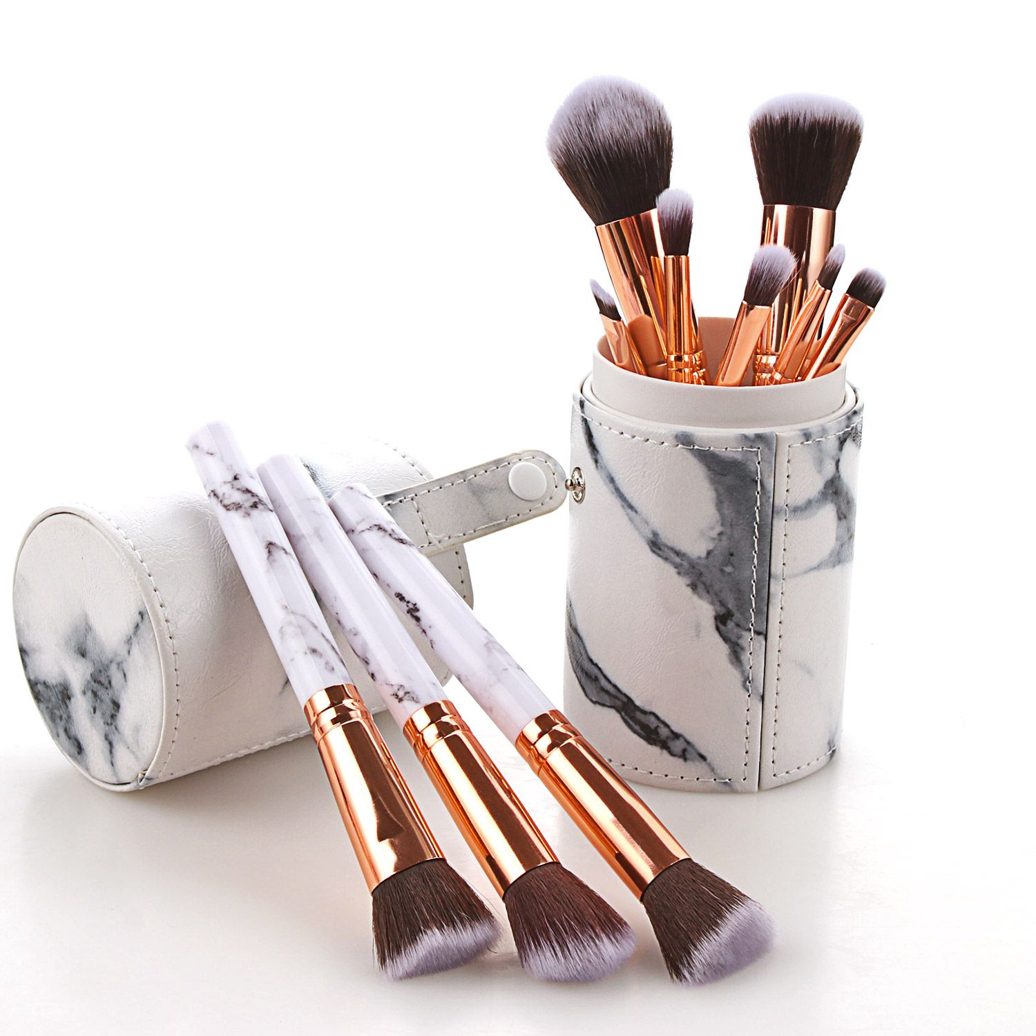 New Marble Makeup brushes Cosmetic Wholesale Make up brush