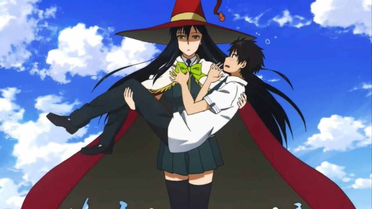 Witch Craft Works Sorciere Anime Anime Anime