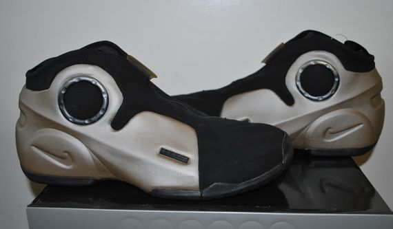 pretty nice dfe0f c083d ... dsc 0562 Nike Air Flightposite II Kevin Garnett PE Metallic Zinc Black  2000 Look See Sample ...