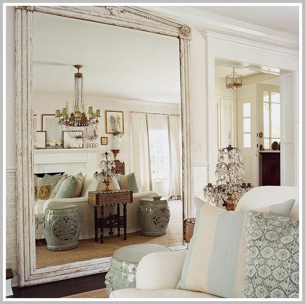 65 Reference Of Large Mirror In Living Room Decorating In