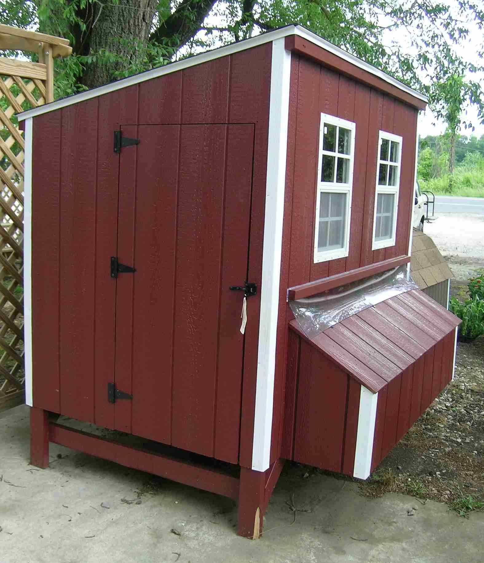 Easy Diy 4 X6 Chicken Coop Hen House Plans Pdf: 27 DIY Chicken Roosting Ideas For Chicken Comfortable