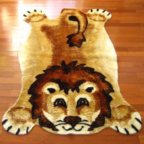 Lion Playmat Rug