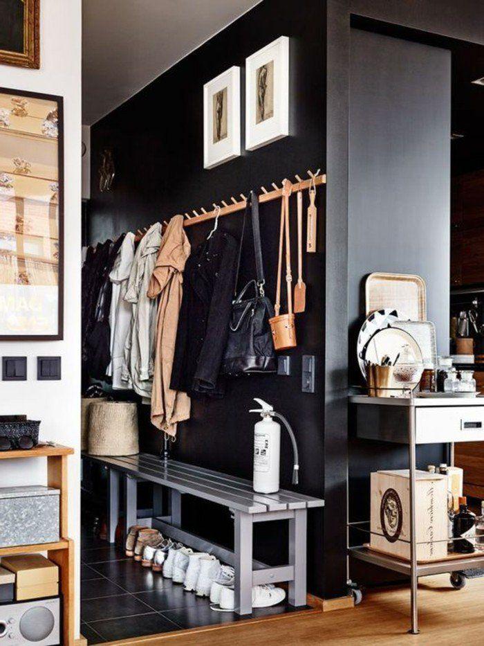Comment sauver d\u0027espace avec les meubles gain de place? Mud rooms - comment organiser son appartement