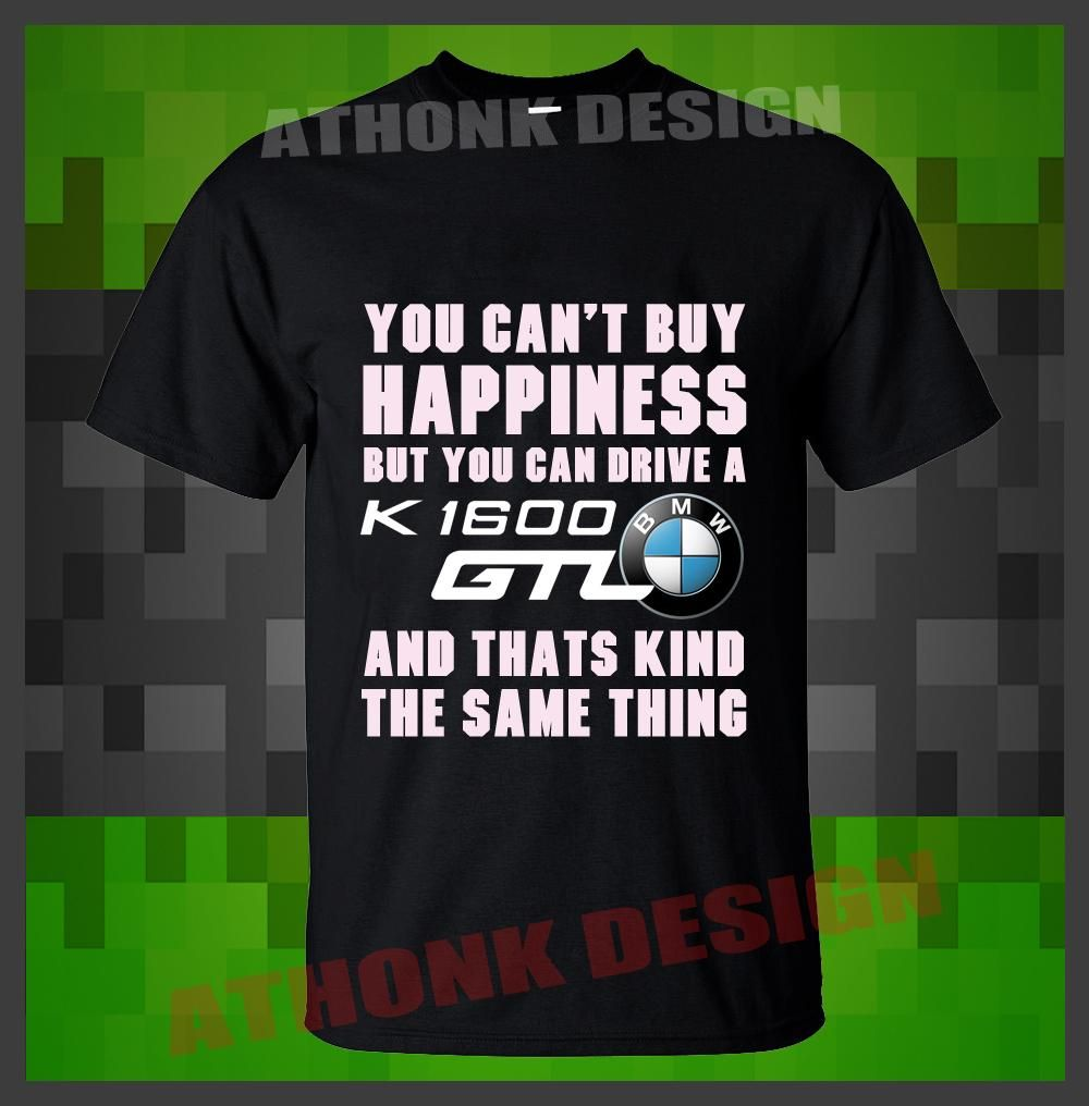 /'They Say Money Can/'t buy Happiness.../' Men/'s T-shirt /'BMW R1200GS Adventure /'