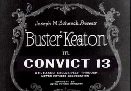 buster keaton convict 13 title card - pretty clever films | the, Powerpoint templates