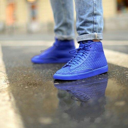 """Nike Blazer Mid QS """"Blue Metric"""""""