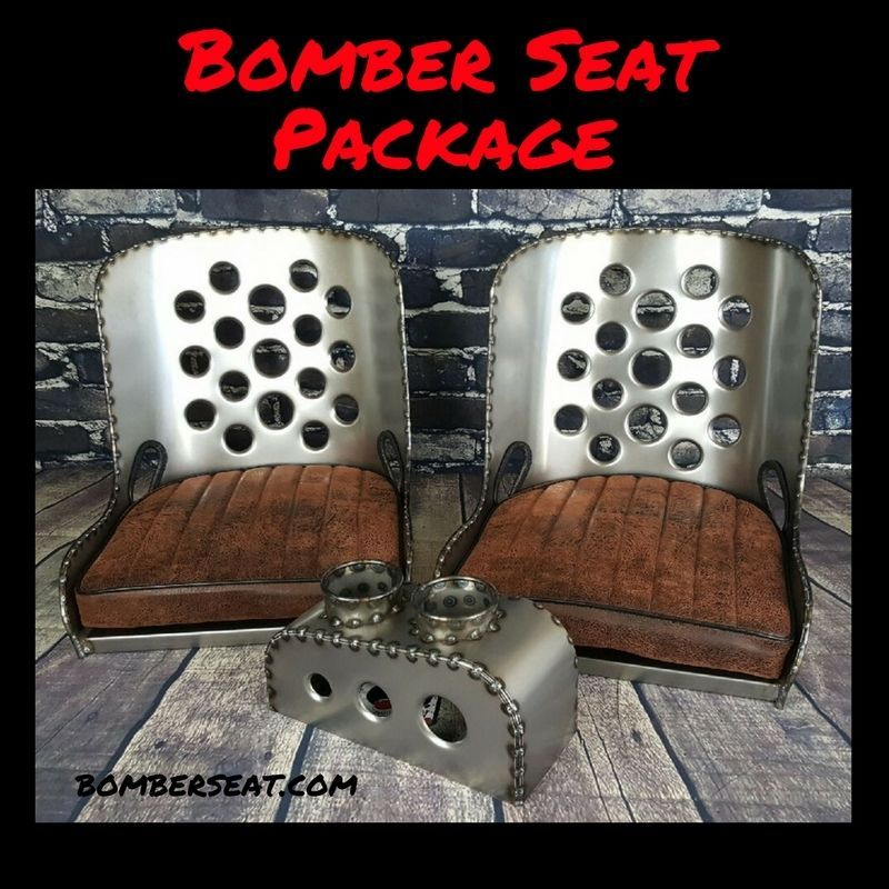 Bomber Seat Hot Rod Seat Rat Rod Seat Package | eBay Motors, Parts ...