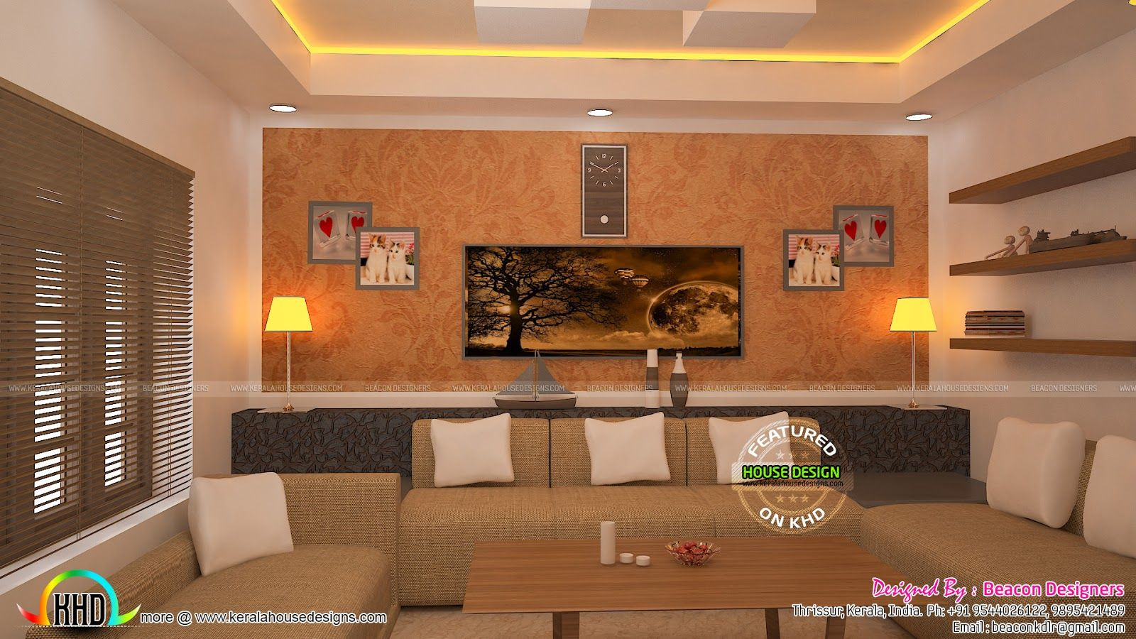 Kerala house design houses living room interior square feet floor plans also pin by  murali krishna on rh pinterest