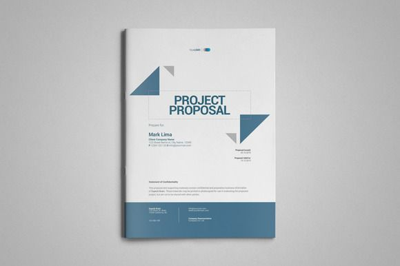 a4 project proposal template by thirtypath on creative market