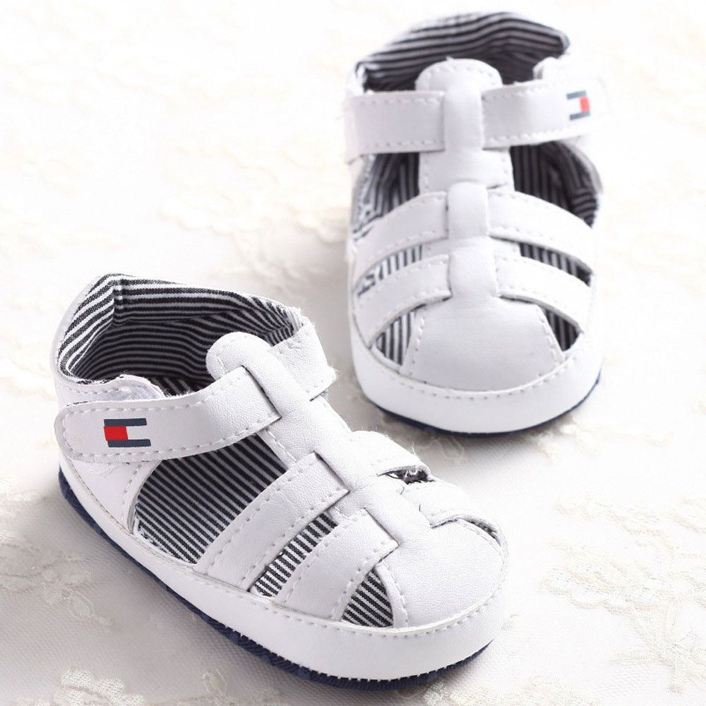 Black newborn sandals - Cool Baby Infant Kids Girl Boys Soft Sole Crib Sandals Toddler Newborn Sneakers Shoes 2017