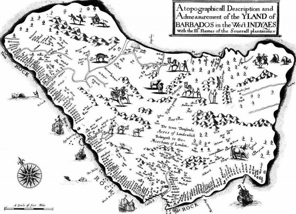 south carolina maps 1700's Google Search Barbados