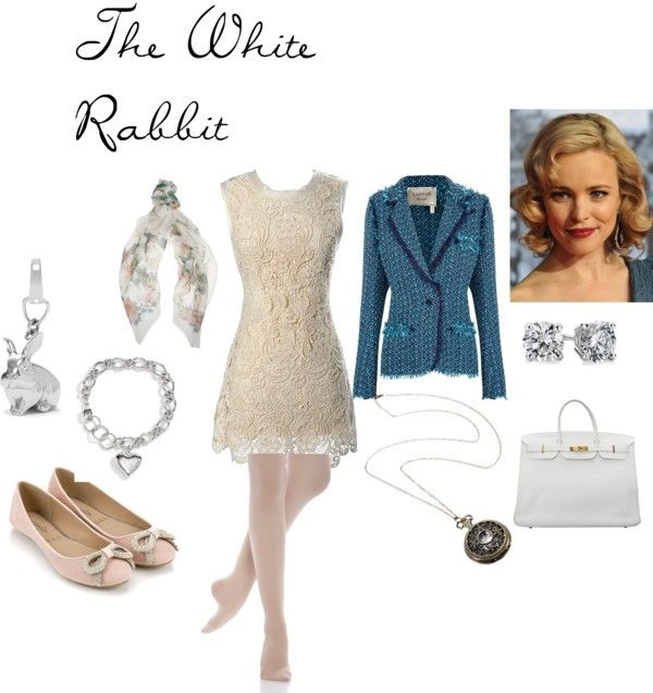 """The White Rabbit"" by nchavez113 on Polyvore"