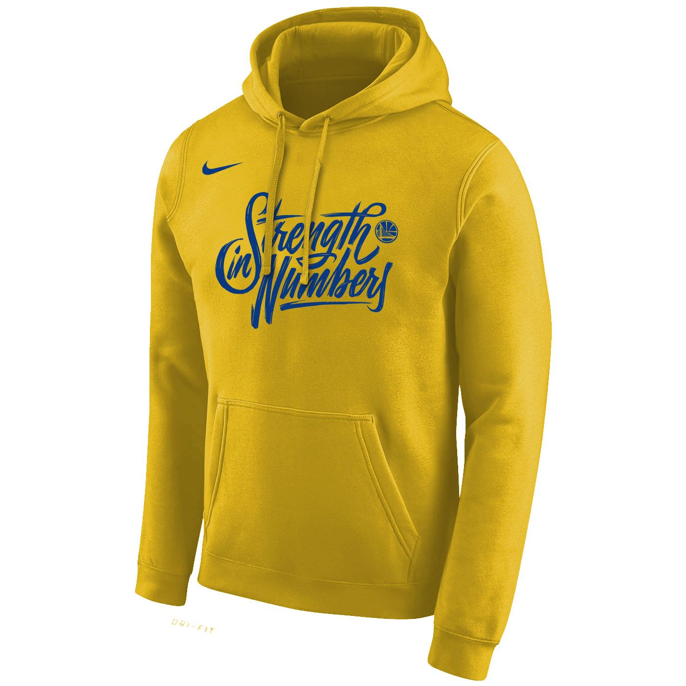 a73e3ee9311d Golden State Warriors Nike Men s  Strength In Numbers  Stadium Club  Pullover Fleece Hoodie - Gold - Golden State Warriors - Official Online  Store