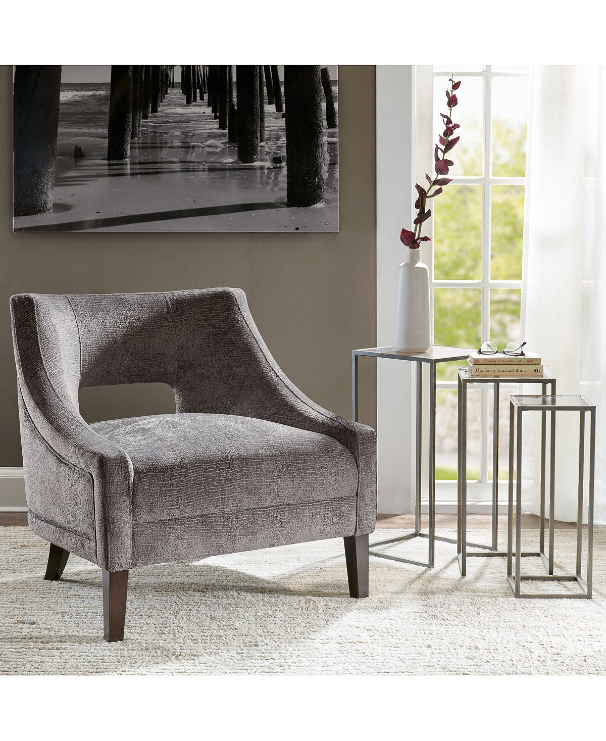 quick ship furniture - whitney accent chair quick ship furniture macy's accent