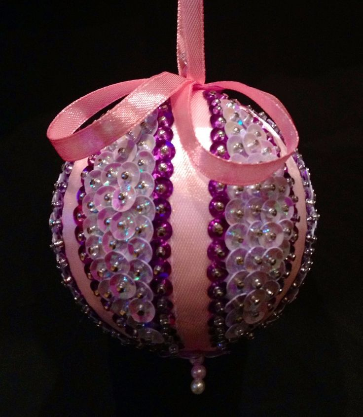 1000 Ideas About Sequin Ornaments On Pinterest