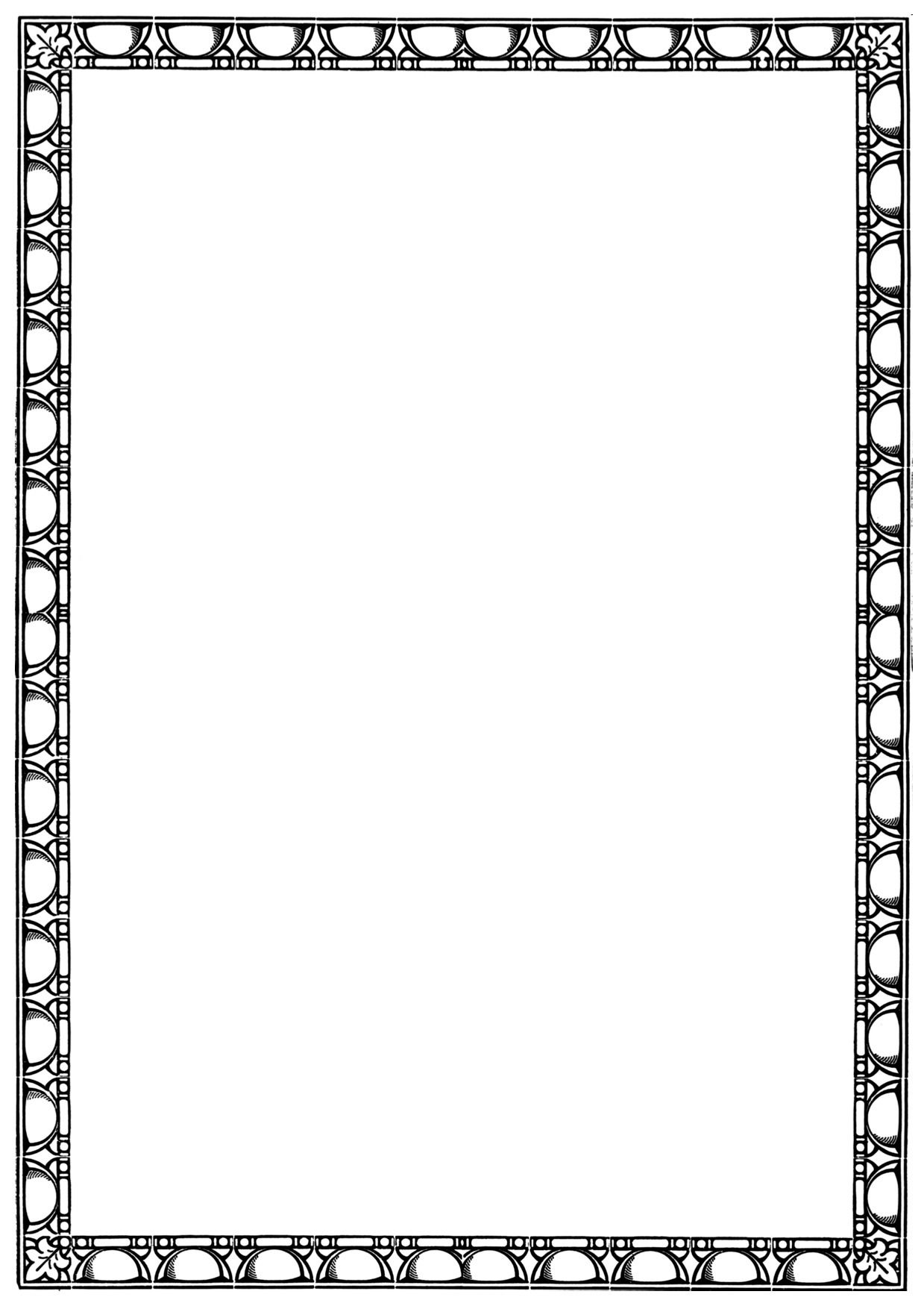 This is an image of Rare Free Printable Page Borders