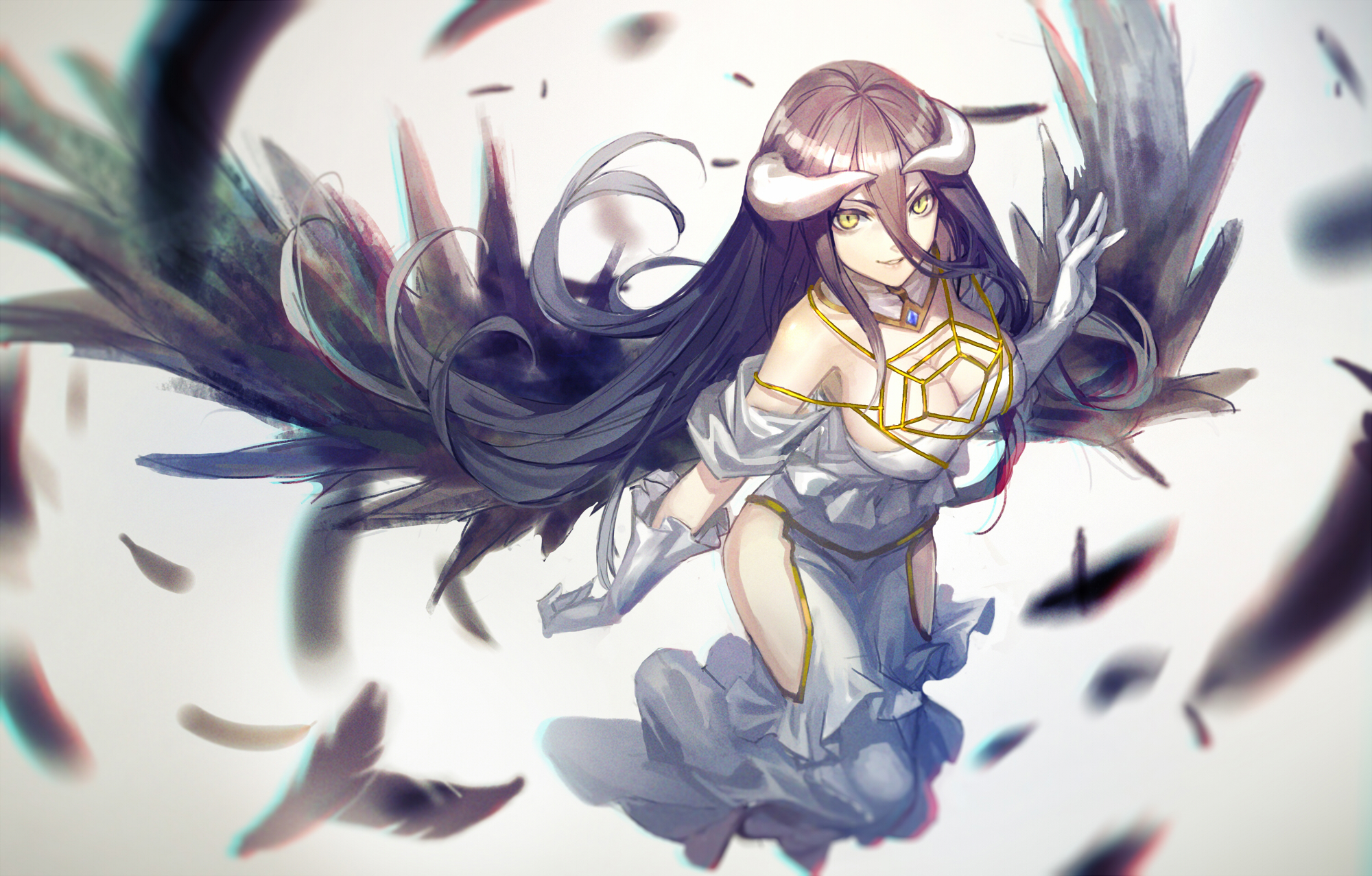 Download Free Overlord Albedo Wallpaper Widescreen