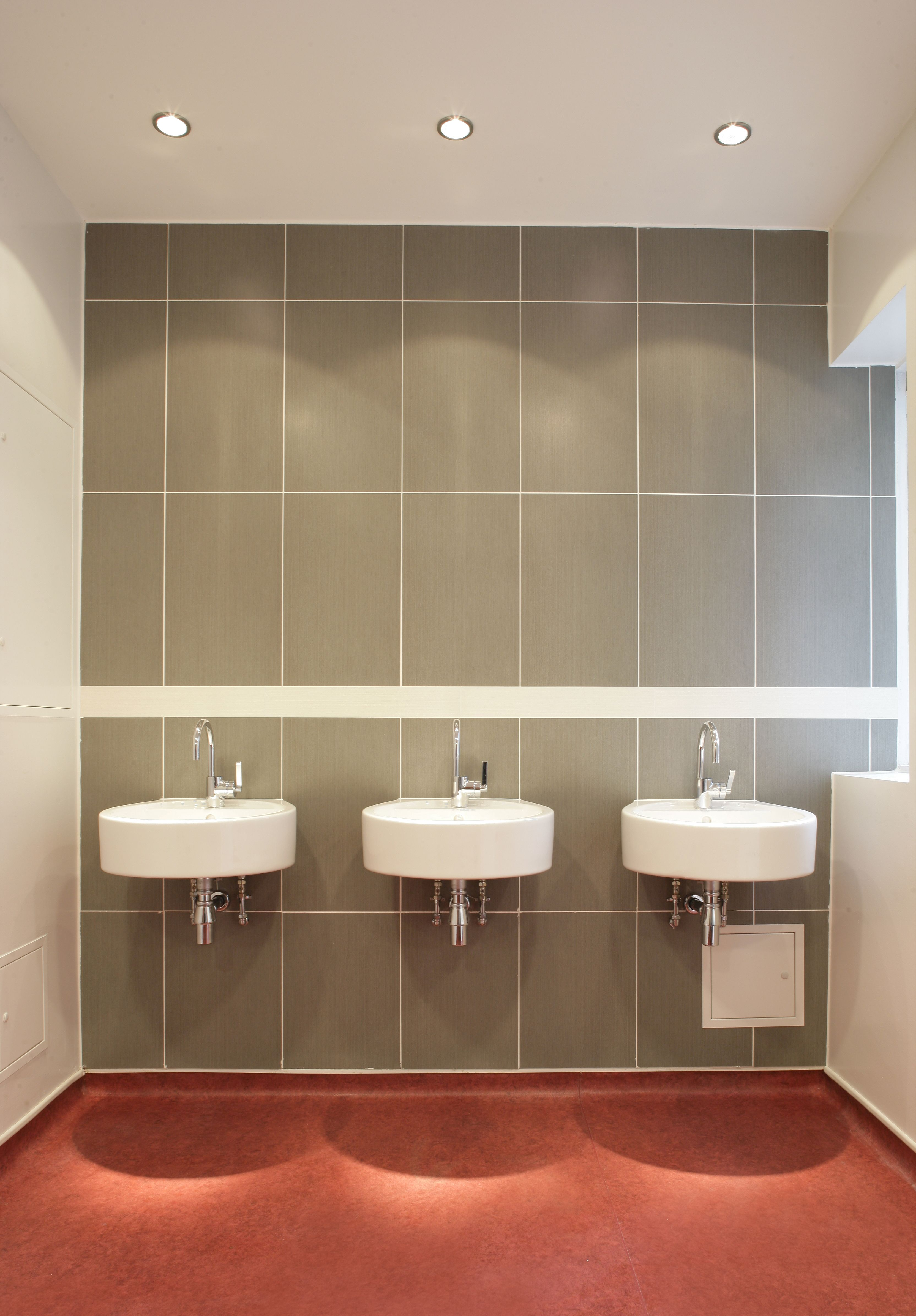 Toilets inside of hagley road 123 127 hagley road by thuja design