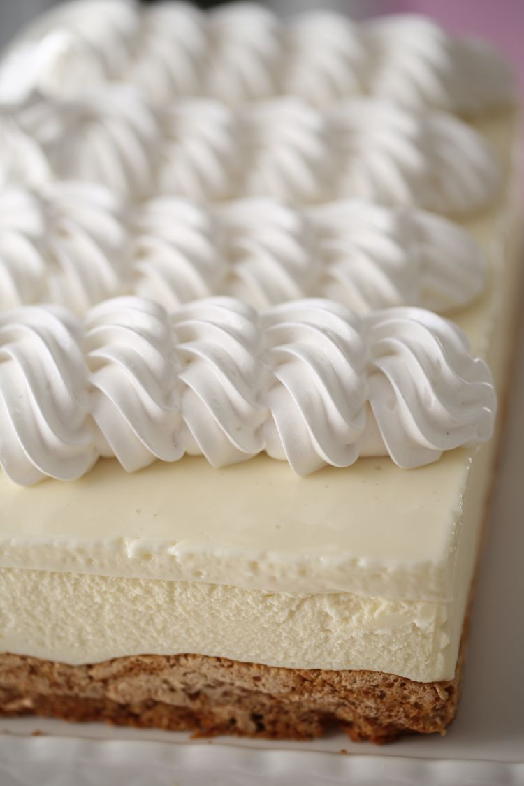 Lemon white chocolate mousse cake gf recipe white