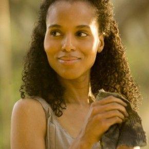 I loved Kerry Washington's hair in Django Unchained