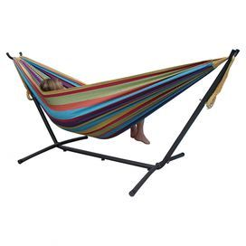 Glenwood Hammock & Stand Set in Tropical