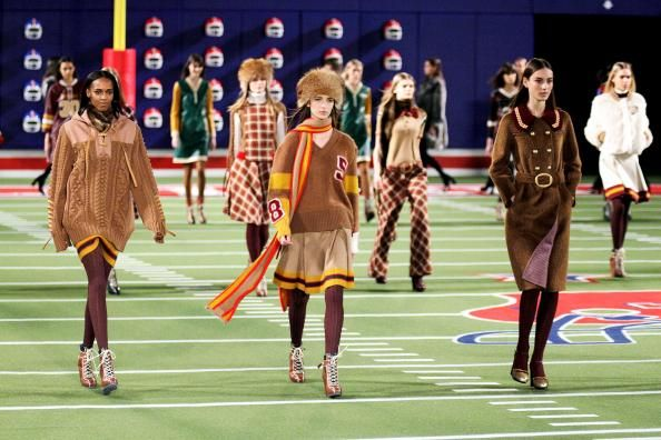 Tommy Hilfiger Fall 2015 Runway Show Scores a Touchdown #InStyle