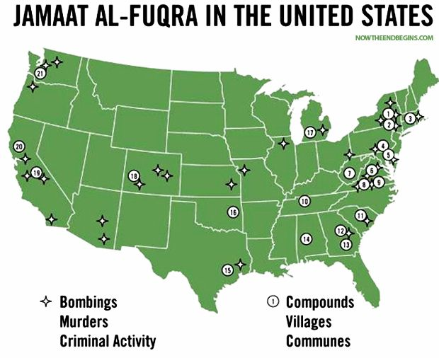 22 Islamic Terrorist Training Camps Found In These American States ...