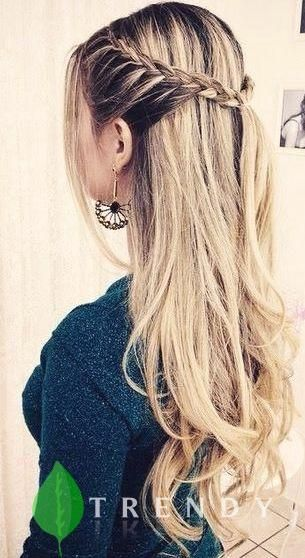 20 Effortless Back to School Hairstyle - #Effortless #Hairstyle #school