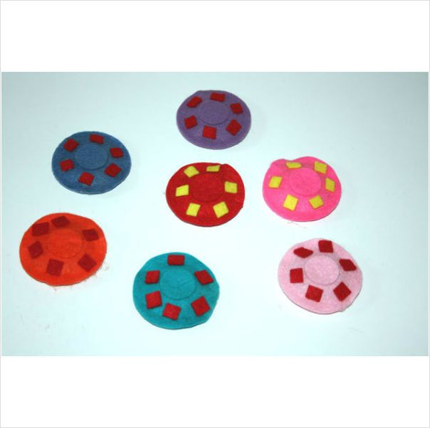 Cat toy Catnip Flying saucers cat toy, Package of 2 Made