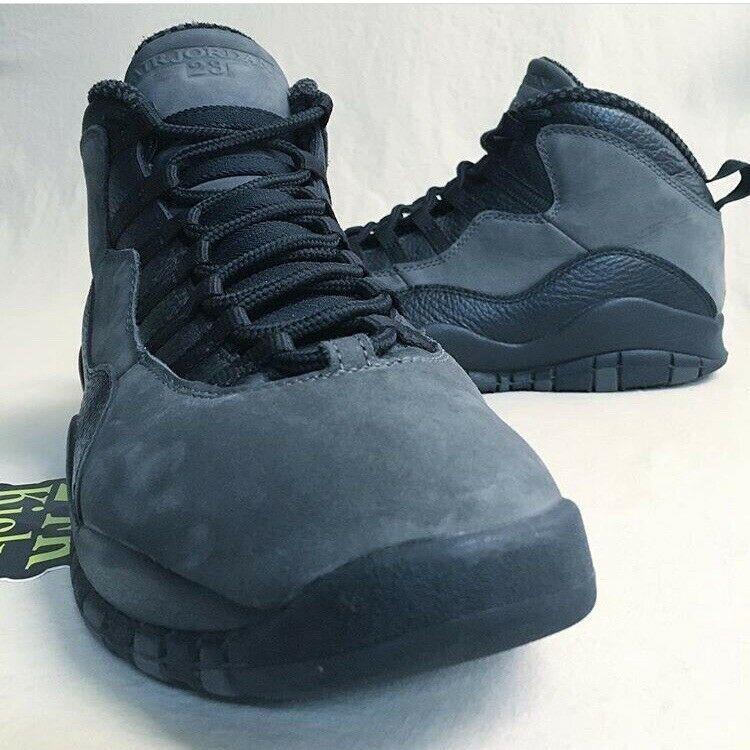 76c3a13ed78427 (eBay Sponsored) Air Jordan Retro 10 Shadow size 11 Steel Grey NYC LA OVO