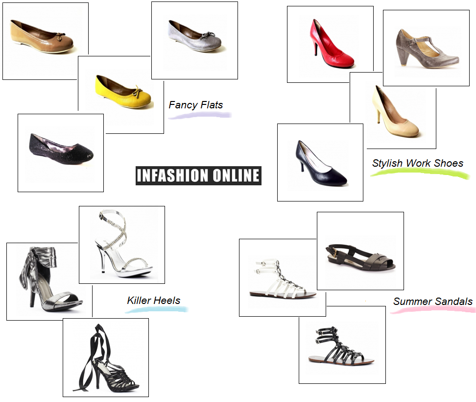 Looking for flats? heels? work shoes? we have the whole range have a sneak peek of some of our collection