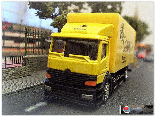 Camión de Correos. Escala H0. http://ju5modelismo.blogspot.com.es/
