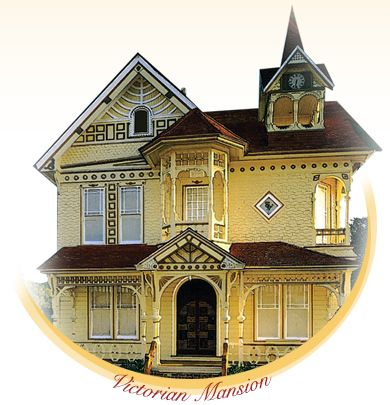 The Victorian Mansion Bed Breakfast Santa Barbara California Mansions Victorian Homes Historic Homes